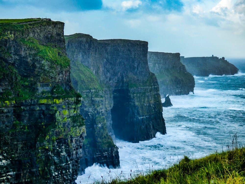 Cliffs of Moher best hiking in Ireland