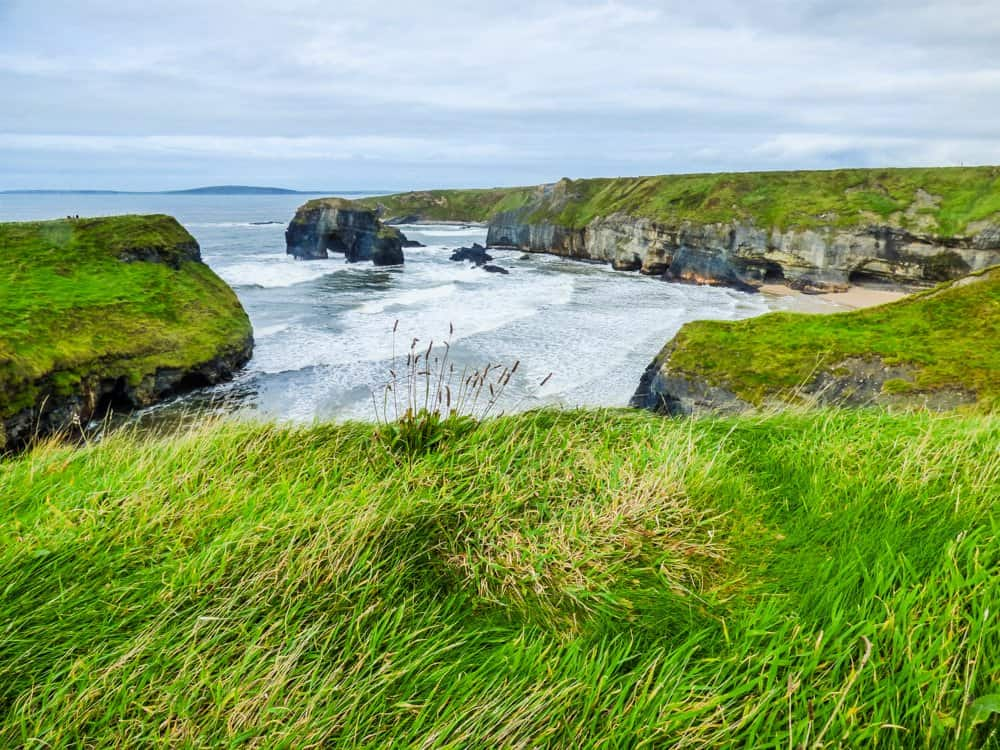 Ballybunion Cliff Walk hikes in Irealnd