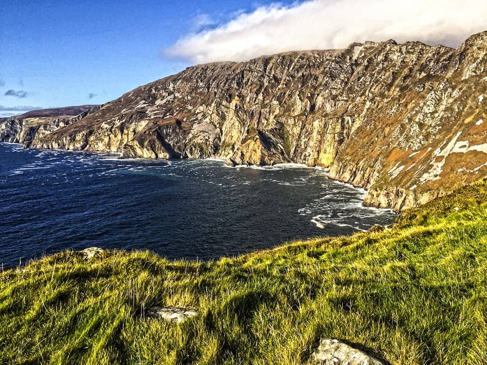 Slieve League Cliffs viewing spot